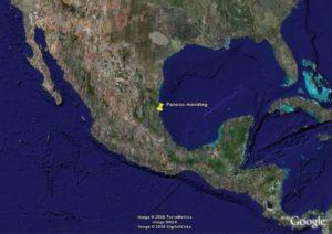 De Panuco-monding te Tampico Mexico