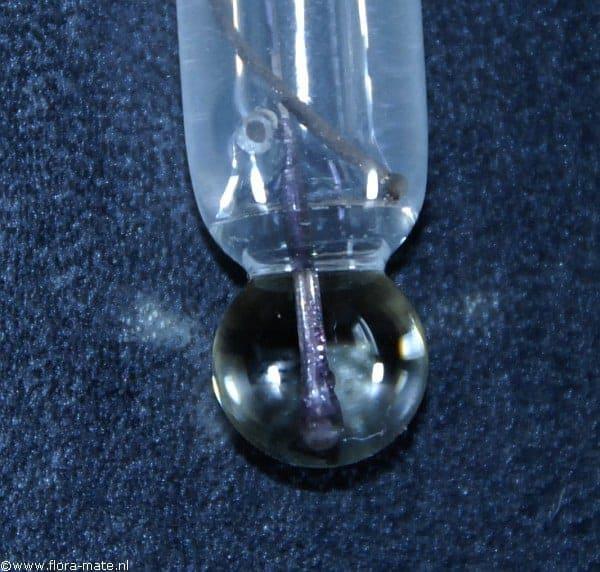 Punt van een pH electrode