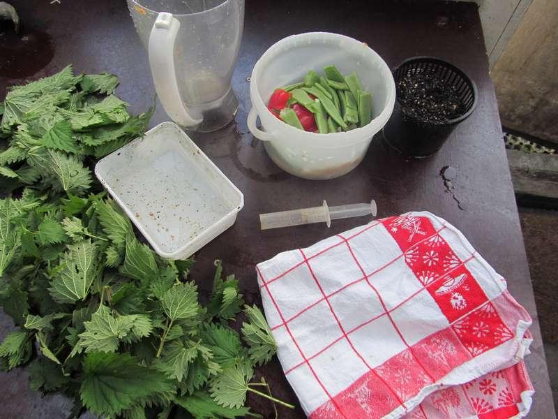 Benodigdheden groente fruit wafers